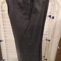 Long Grey pant size 8