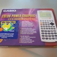 Calculator Casio Colour Power Graphics CFX-9850GB AND Canon Intelligent Organiser