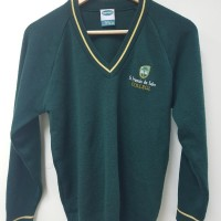 GREEN COLLEGE JUMPER SIZE SMALL
